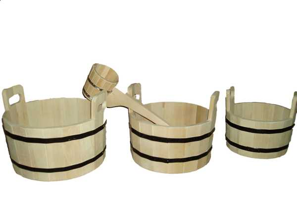 Ковши и черпак для бани: как выбрать и сделать своими руками