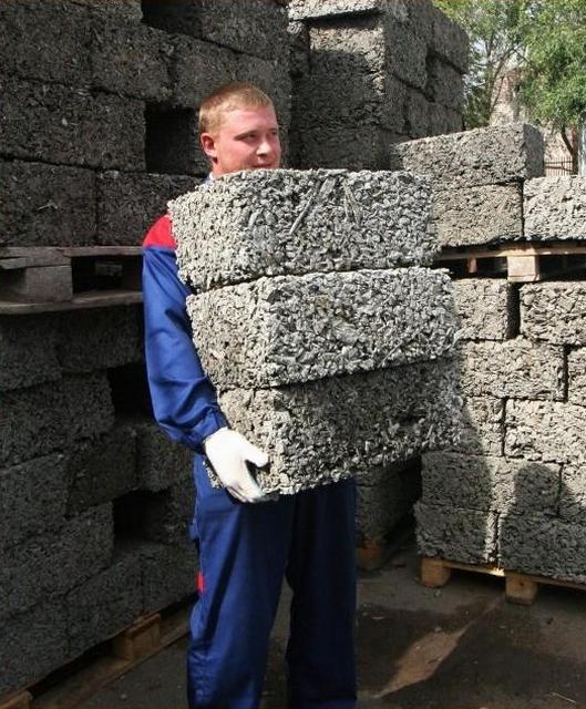 Блоки для строительства из опилок своими руками
