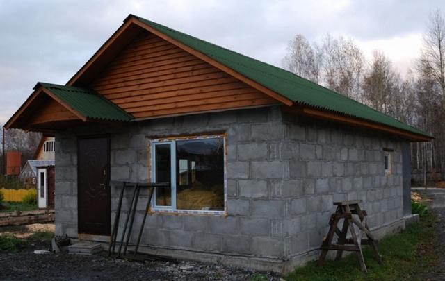 Дом из блоков построить своими руками