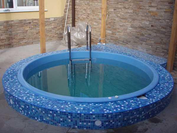 Бассейн своими руками в бане или сауне. Виды бассейнов и их особенности Камины и печи Екатеринбург