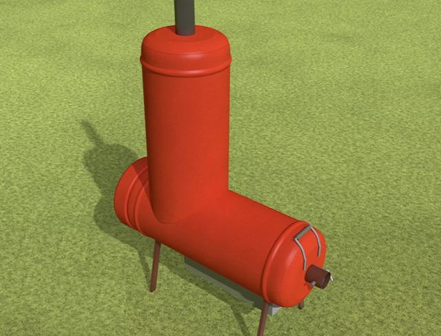 Буржуйка своими руками газовый баллон