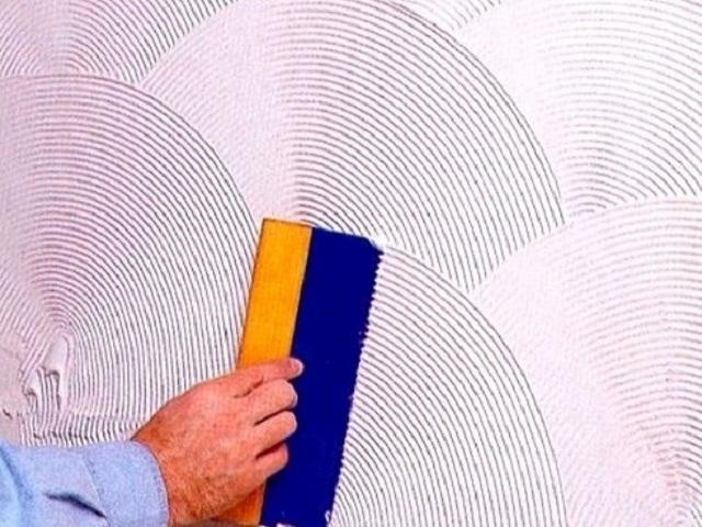 Фактурная окраска стен своими руками