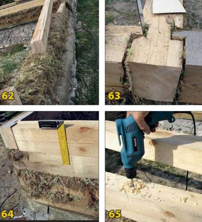 Как мы построили дом из бруса своими руками 981