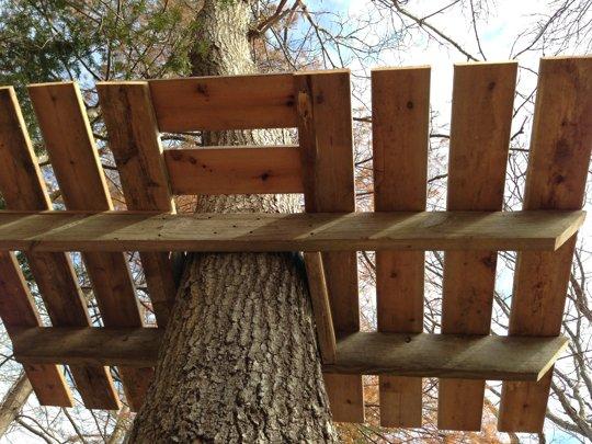 Чертежи домика на дереве