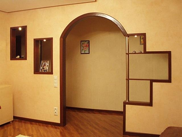 Как сделать красивый дверной проем