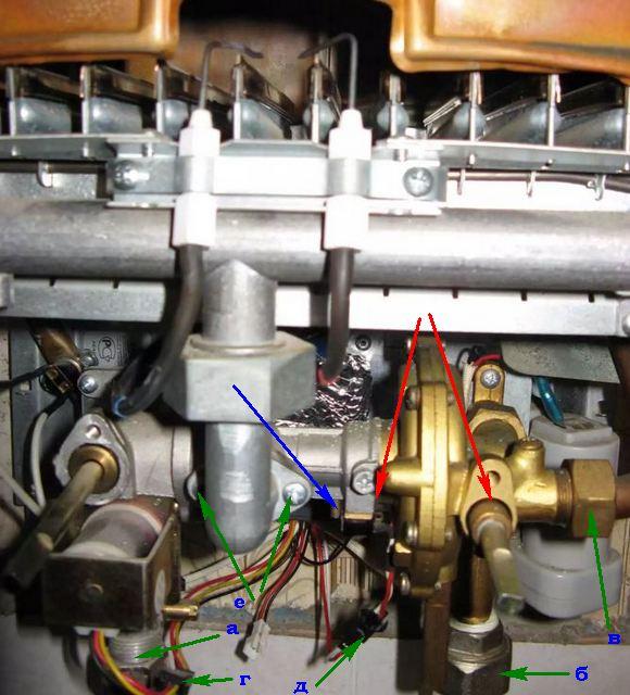 Ремонт газовых колонок нева 4510 своими руками