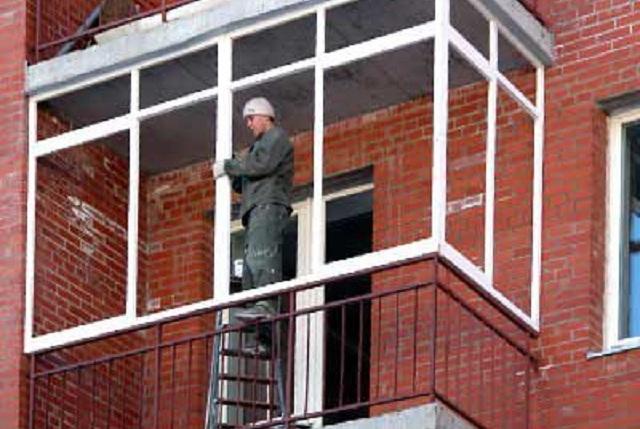 Как остеклить балкон своими руками камины и печи екатеринбур.
