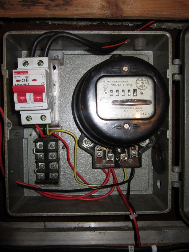 Как сделать счетчик провода 380