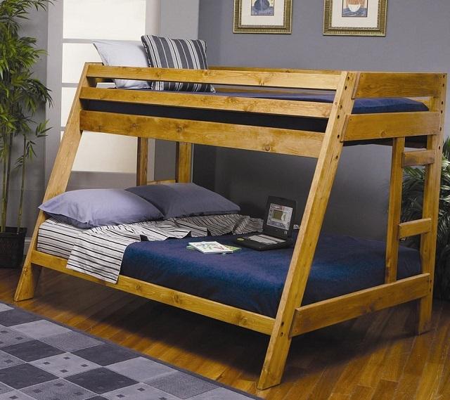 Как переделать кровать в двухъярусную своими руками