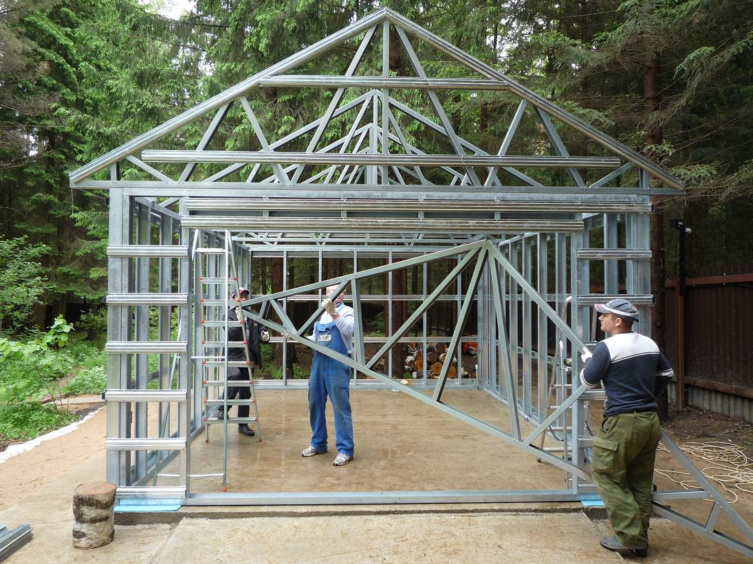 Как сделать дом из железа 75