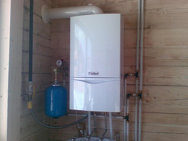 Газовый котел для отопления частного дома монтаж своими руками 4