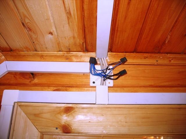 Разводка электропроводки в деревянном доме своими руками 91