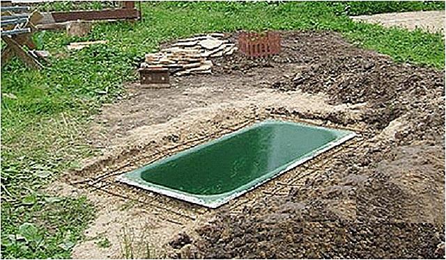 ванна своими руками садовый