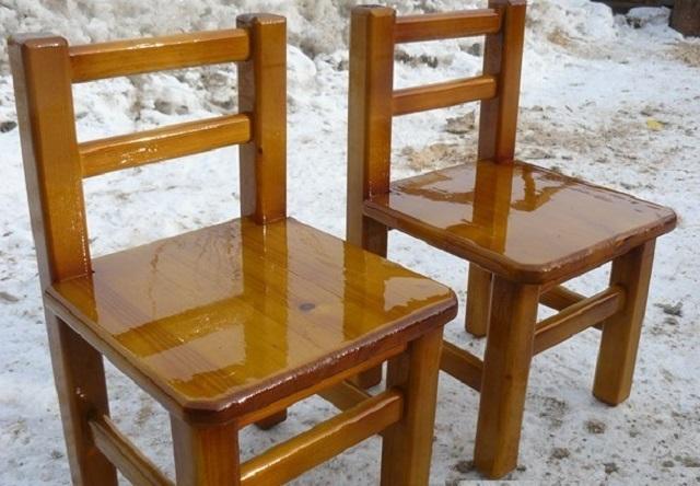 Детские стульчики из дерева фото