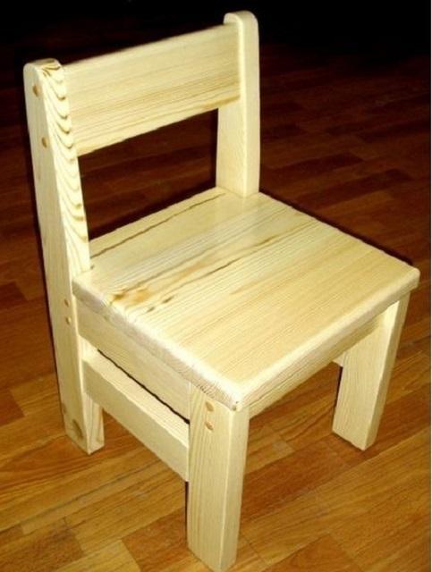 Сделать своими руками стульчик детский