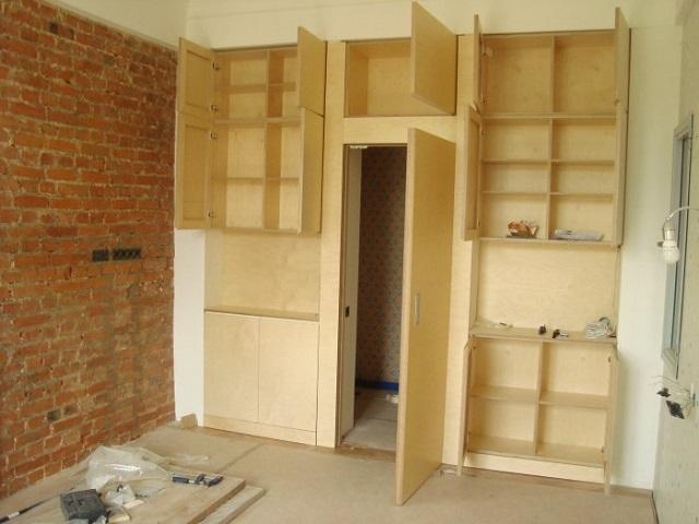 Как сделать встроенную мебель Камины и печи Екатеринбург