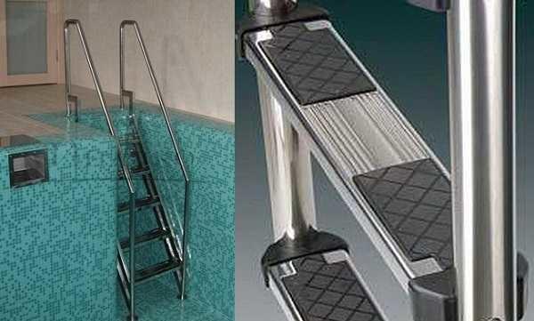 Лестница для каркасного бассейна своими руками фото