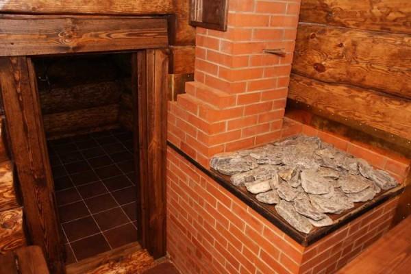 Для бани каменные печи