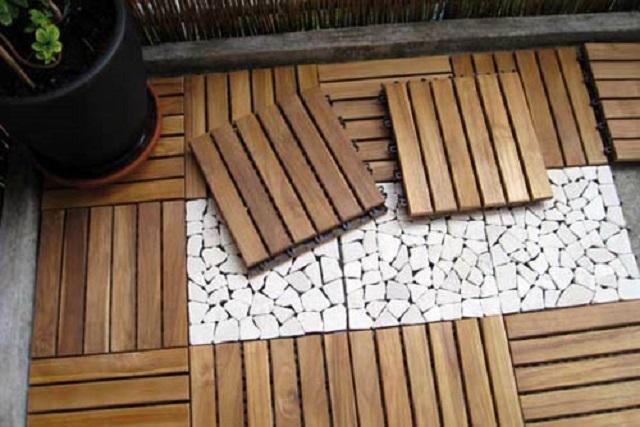 Чем покрыть деревянный пол на лоджии