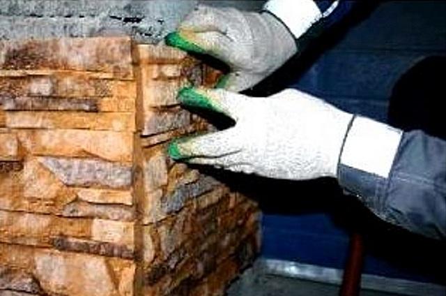 Декоративный камень как сделать угол