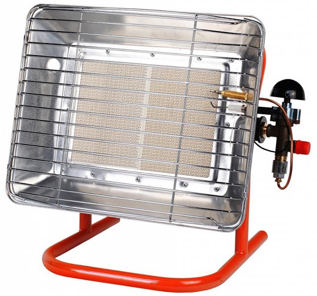 Газовые инфракрасные обогреватели помогут быстро прогреть помещение гаража