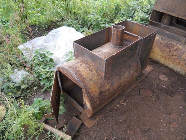 Как из трубы сделать печь в баню своими руками из металла