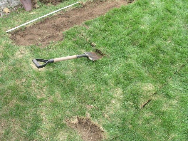 Как снять верхний слой почвы своими руками 8