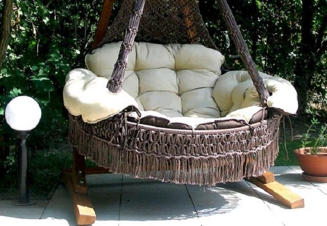 Плетеного кресла своими руками