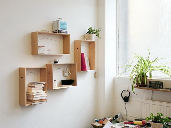 Как сделать полки на стене
