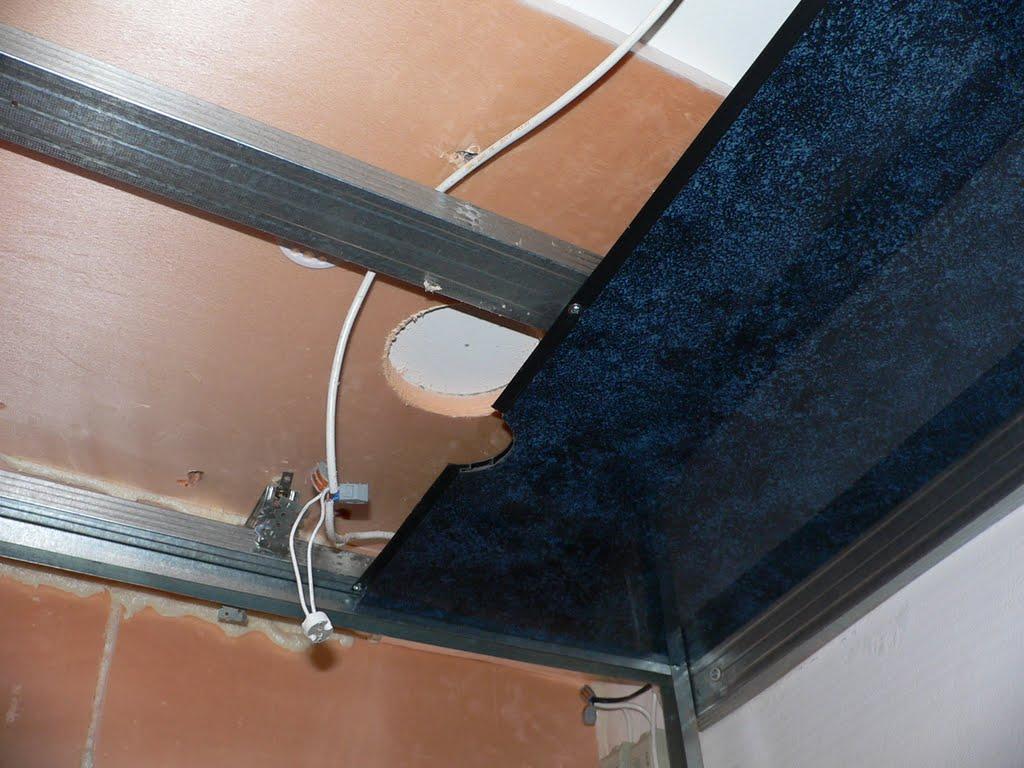 Как правильно сделать потолок в ванне панелями 771
