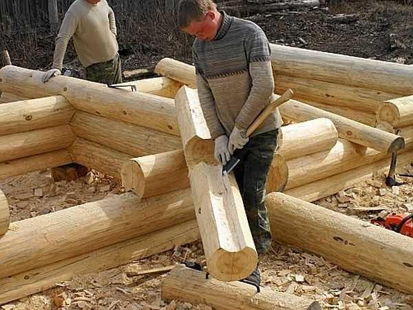 Как самому сделать дом из сруба