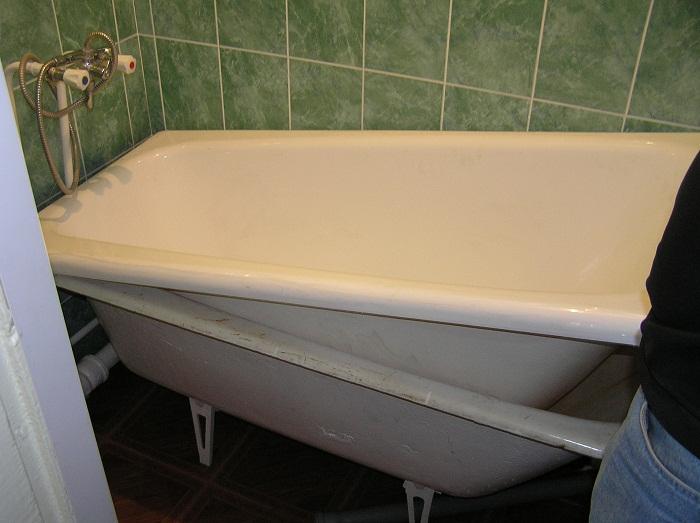 Как поменять ванну своими руками 386