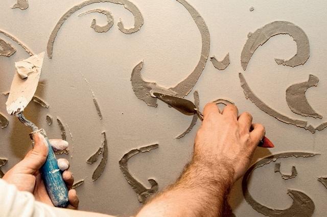 Рисунки на стене в квартире своими руками Камины и печи Екатеринбург