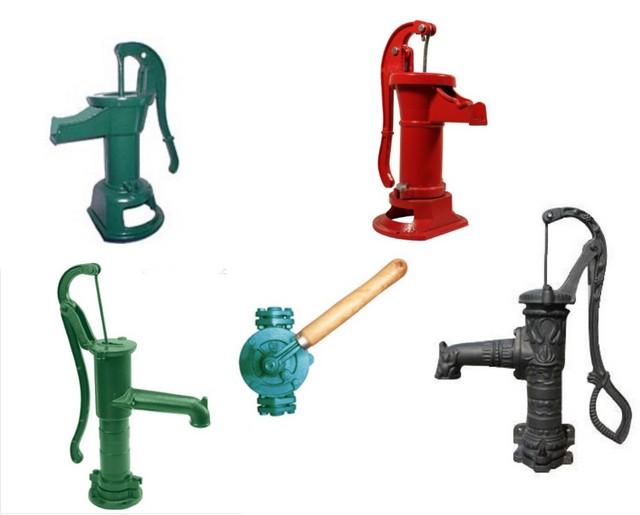 Ручной насос для откачки воды своими руками 67