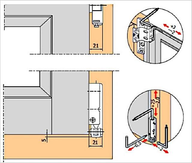Металлопластиковые двери установка своими руками