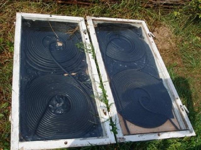 Солнечный коллектор своими руками с фото и видео