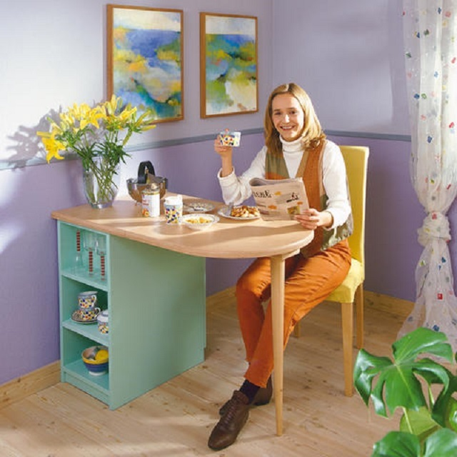 Сделать стол на маленькую кухню