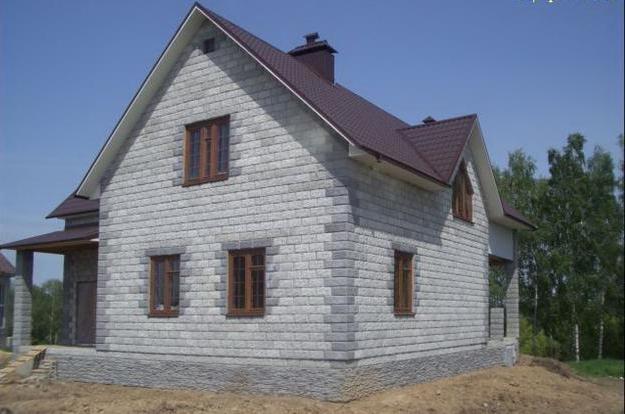 домов из пеноблоков фото