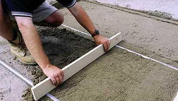 Плитку на бетонный пол своими руками