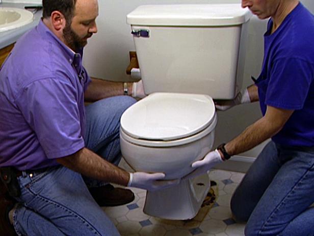 Как поменять туалет своими руками видео 87