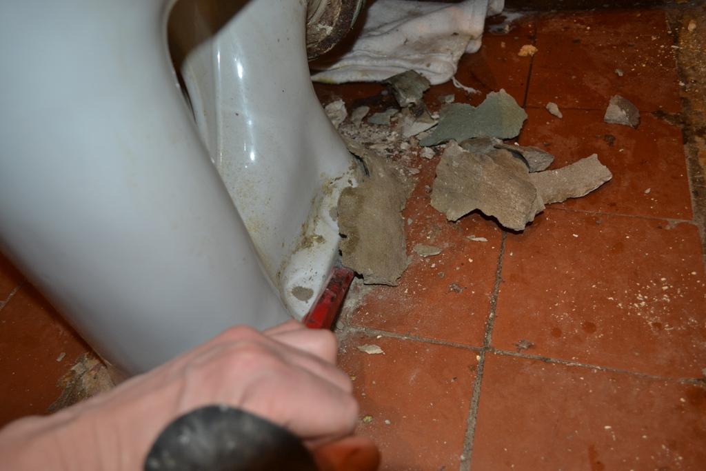 Как поменять туалет своими руками видео 65