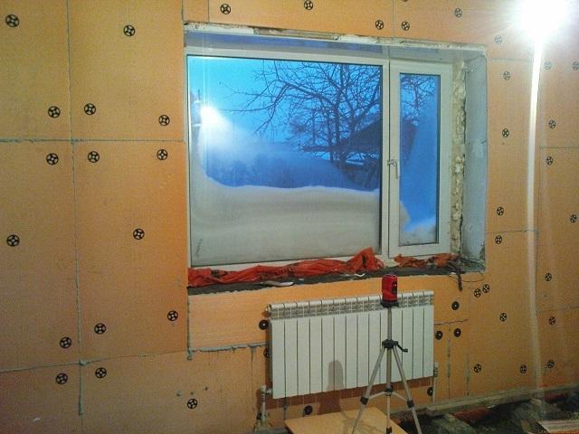 Как утеплить стены внутри квартиры своими руками