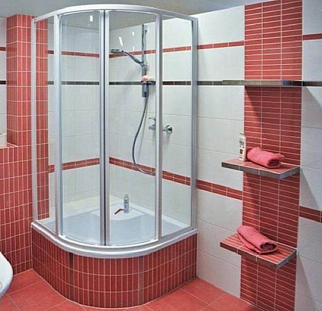 Как в ванной сделать душ кабину