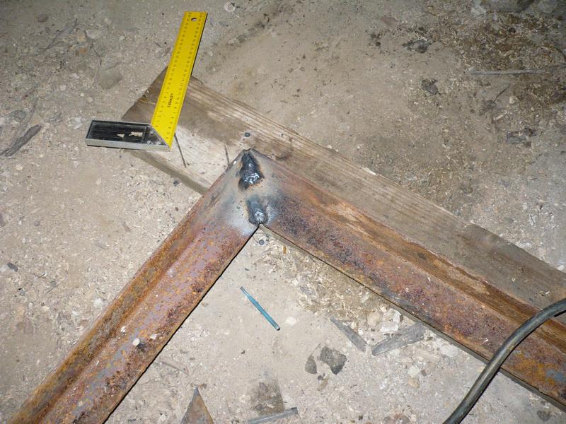 Как сделать из уголка каркас на ворота в гараж