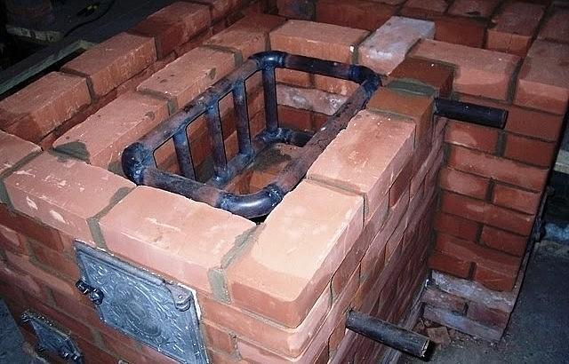 Варочная печь длительного горения из кирпича своими руками