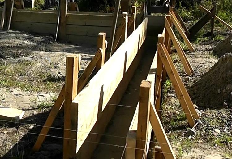 как сделать деревянную опалубку