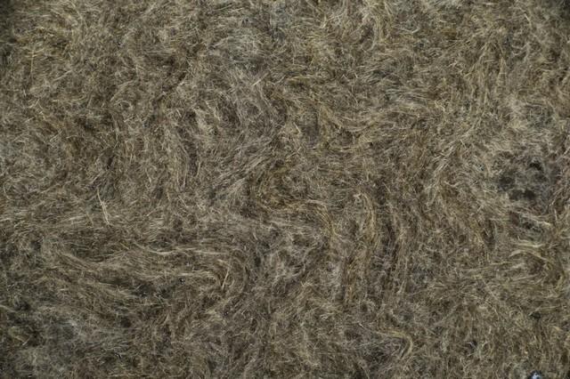Волокнистая структура базальтового утеплителя