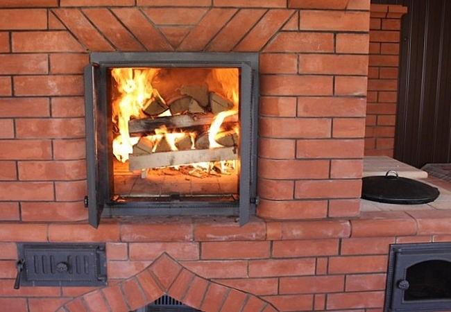 Температура огня в печи