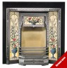 Victorian Tiled Fireplace